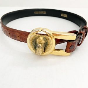 Vicenza Sport Vintage Elephant Buckle Belt